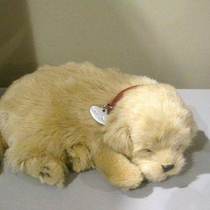 Perfect Petzzz Golden Retriever Puppy Dog Breathes